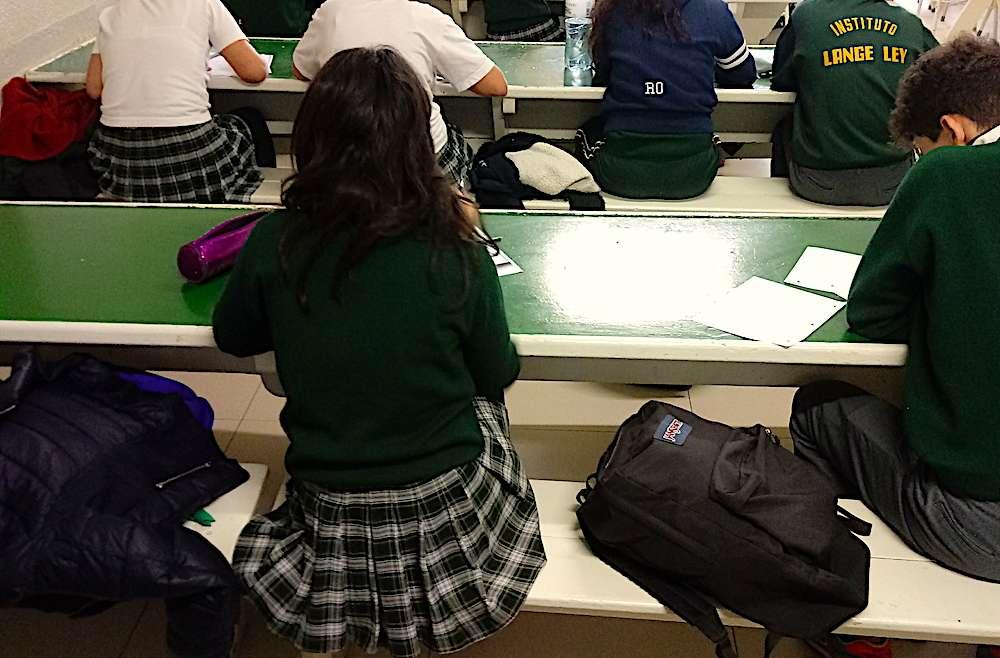 Los alumnos de 2° y 3° año ya se preparan para los exámenes internacionales que rendirán en diciembre