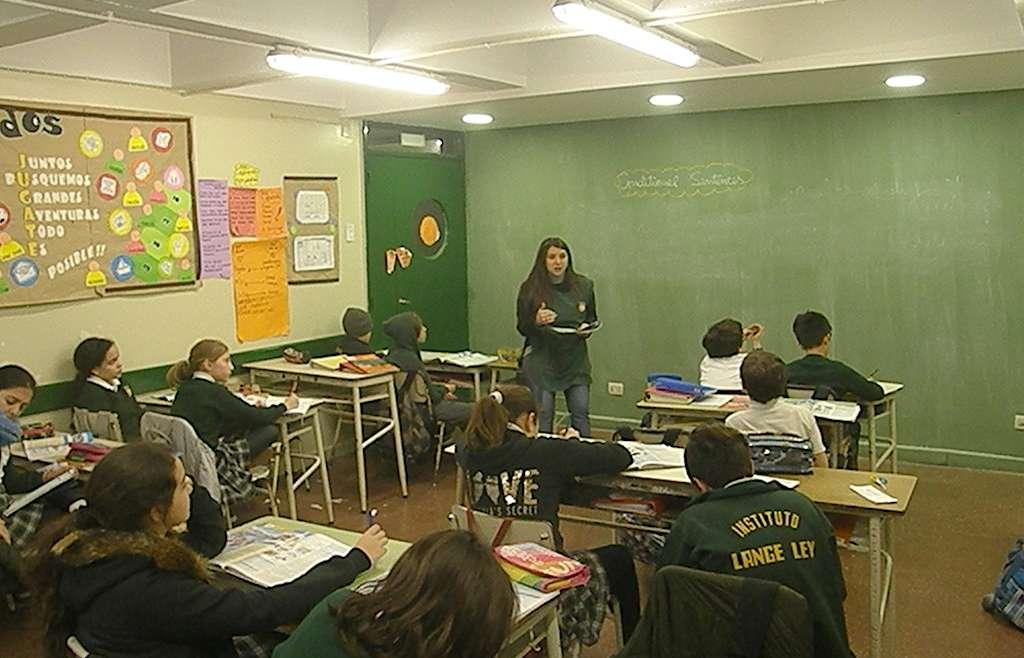 """Los chicos de 6° A aprendieron """"conditional sentences"""""""