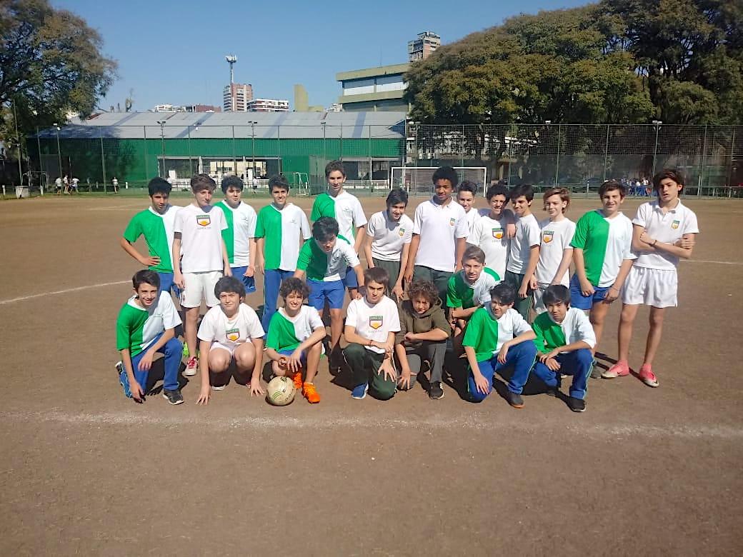 Encuentro deportivo de alumnos de 1º y 2º año con el colegio González Pecotche