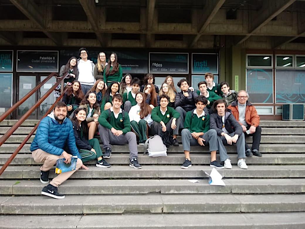 Los alumnos de 4º año participaron de la semana de la física organizada por la UBA