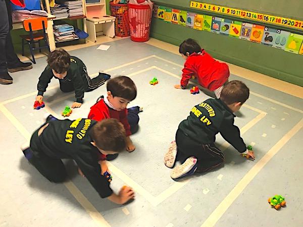 Kinder 4 se transformó en un gran espacio de juego