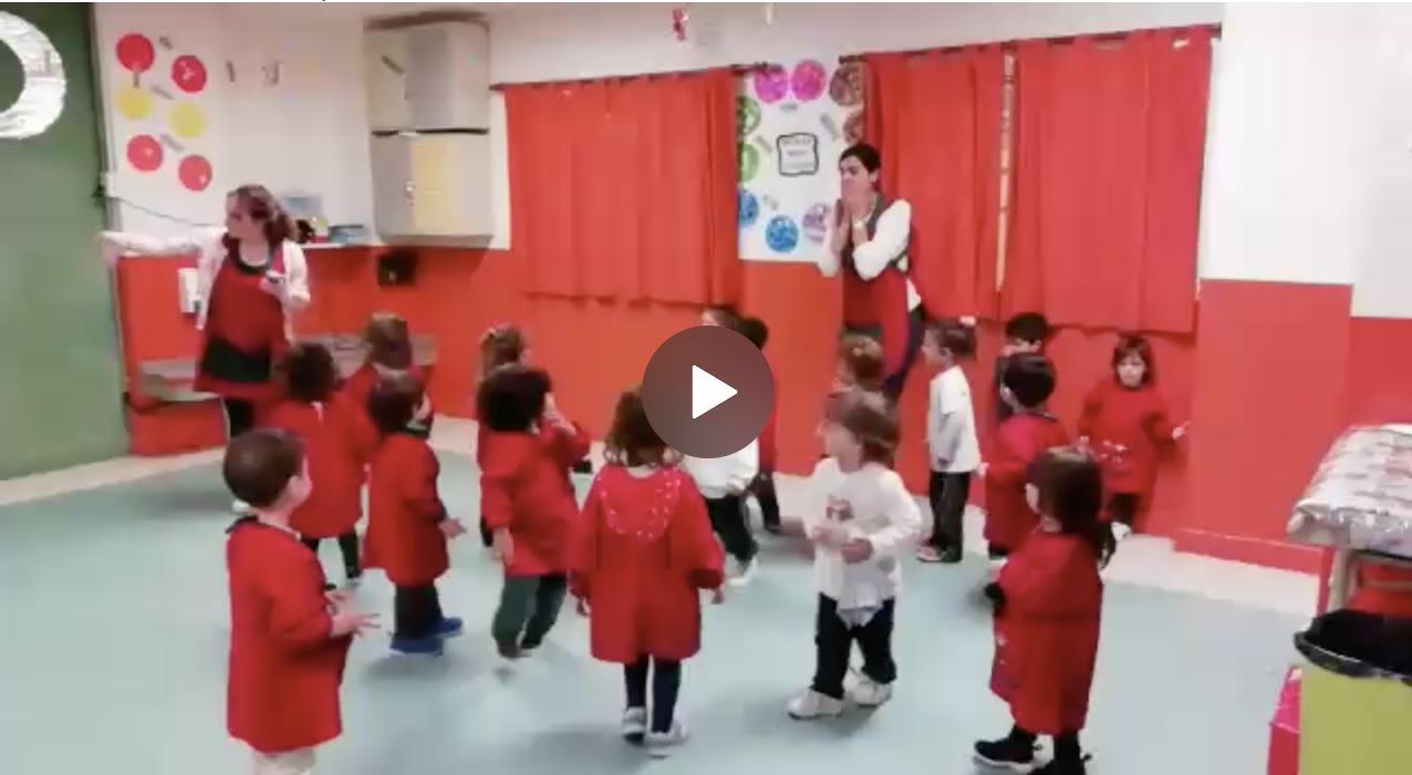 Los Bunnies bailaron Baby Shark