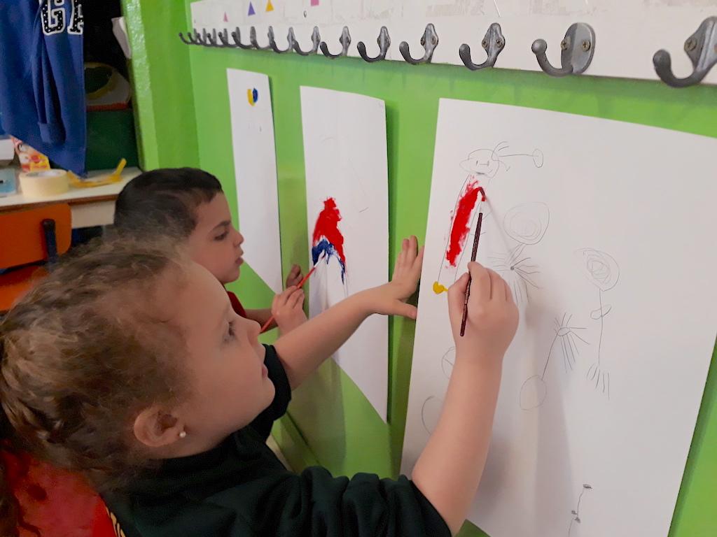 En la sala Zebras replicaron a Joan Miró