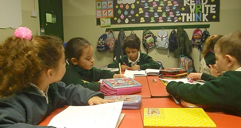 Los chicos de 1º A ponen a prueba su ortografía con un dictado