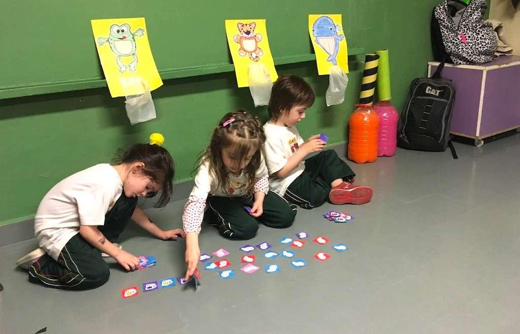 Los Hippos realizaron juegos matemáticos