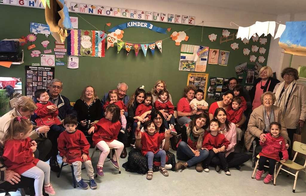 Los Lambs compartieron con sus abuelos la Maratón Nacional de Lectura