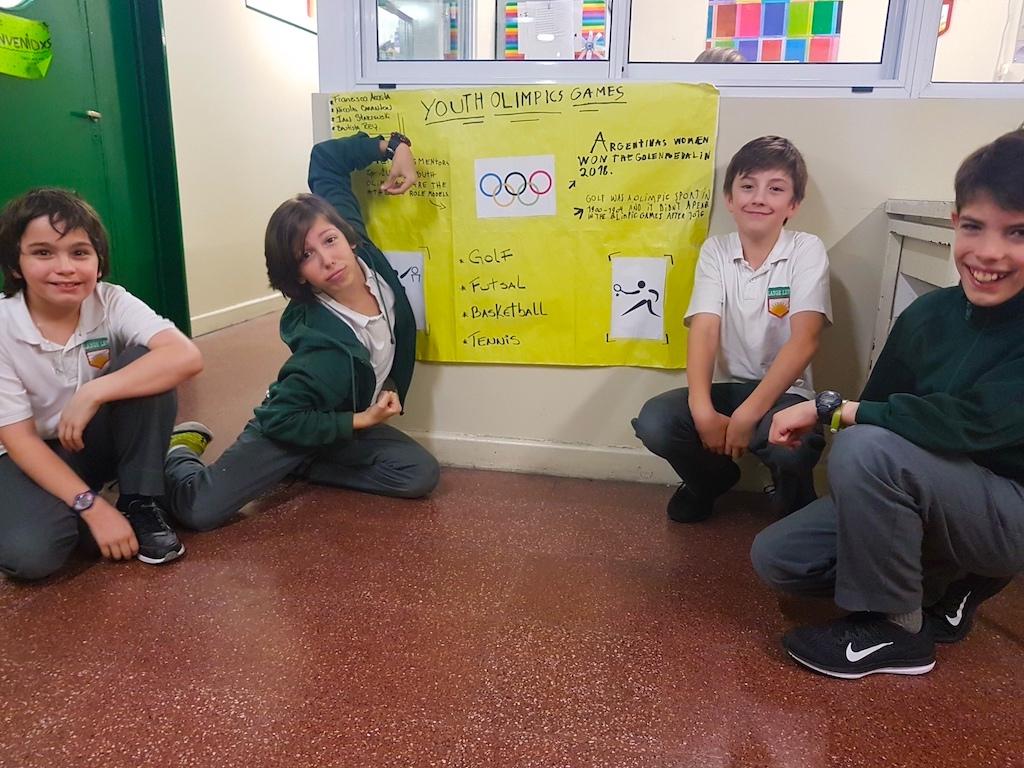 Olympic Games en 6° grado