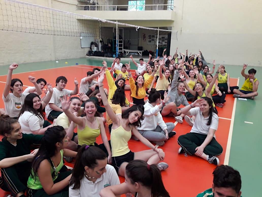 Fiesta de Educación Física en Secundario