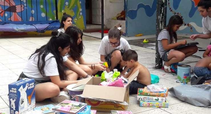 2° año visitó el Hogar Buenos Aires Chiquititos