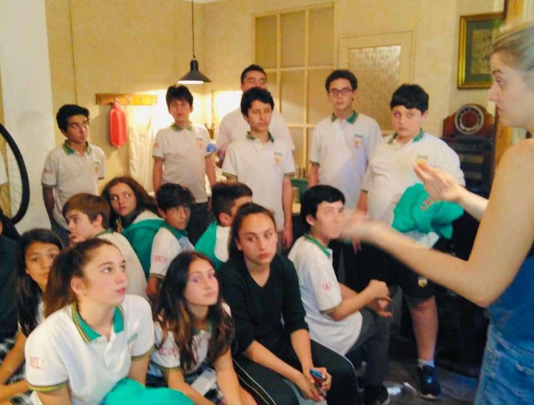 Los alumnos de 7° grado visitaron la Casa museo Anna Frank