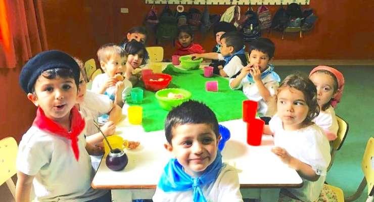 Kinder 3 festejó el Día de la Tradición con una peña
