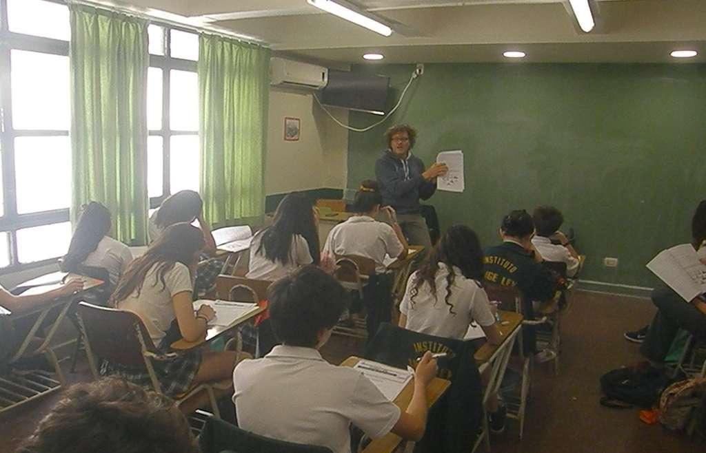 El CUI realizó una evaluación externa de portugués para los chicos de 2° año
