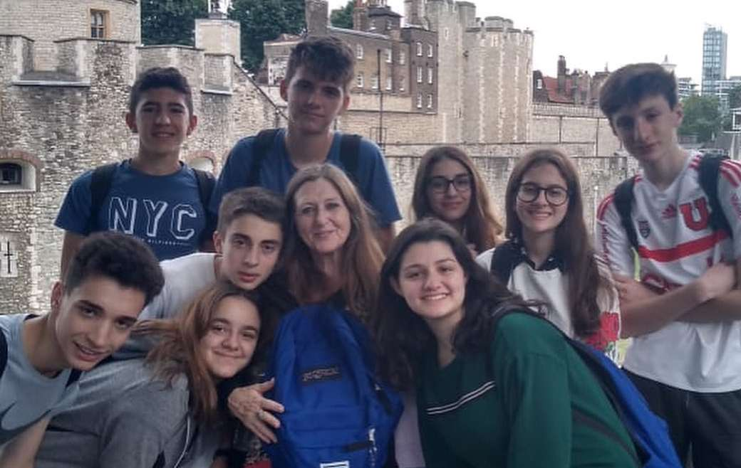 Alumnos de 3° año viajaron al Reino Unido