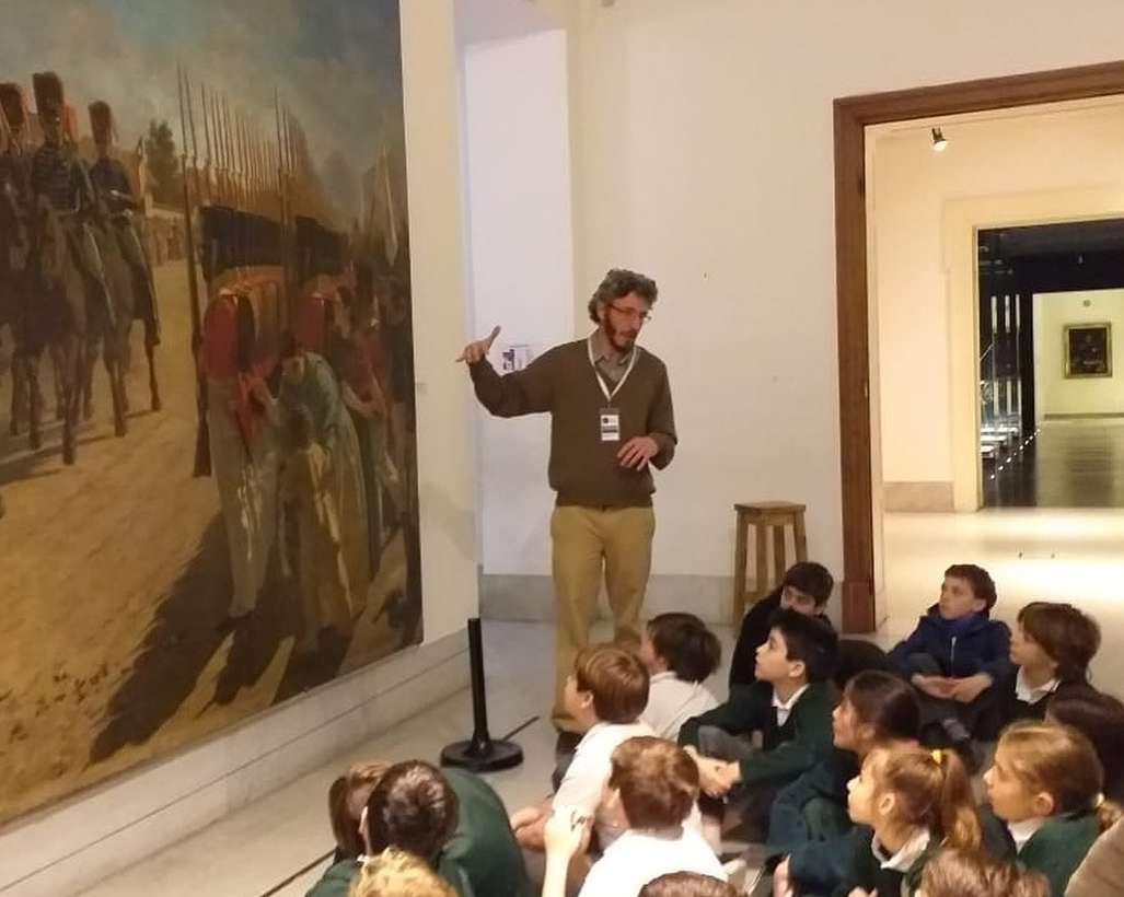 Los alumnos de 5º grado visitaron el Museo Histórico Nacional
