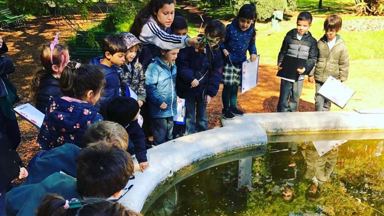 1º grado realizó una visita al Jardín Botánico