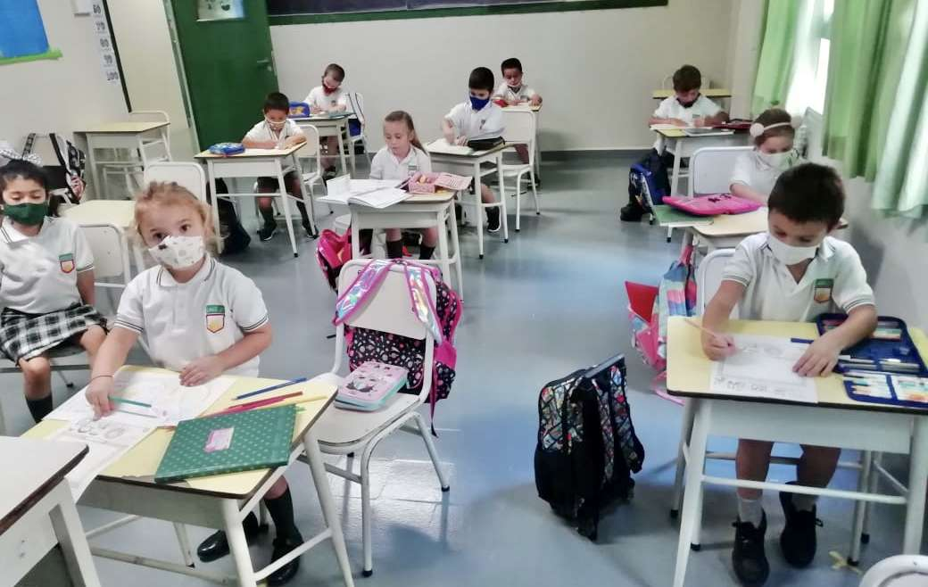 1º grades have finished their first week at elementary school