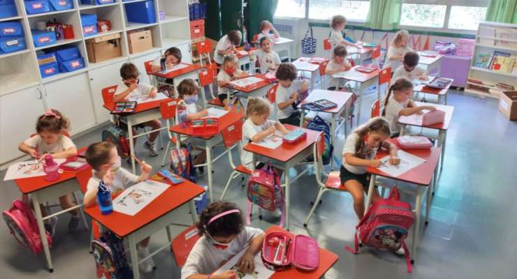 English classes for Kinder 5